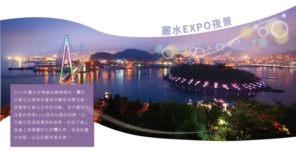 麗水EXPO夜景